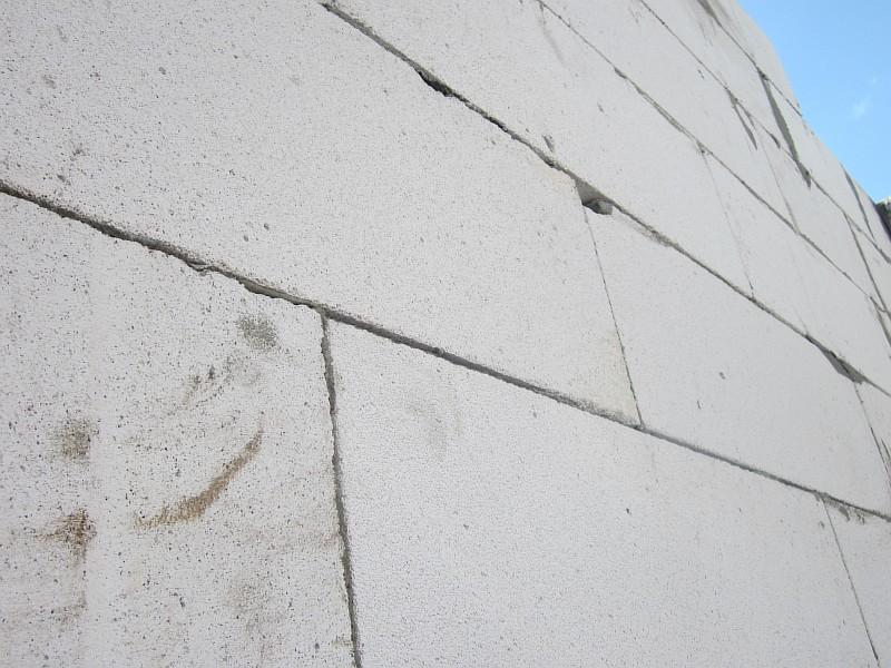 трещины в доме из газобетона