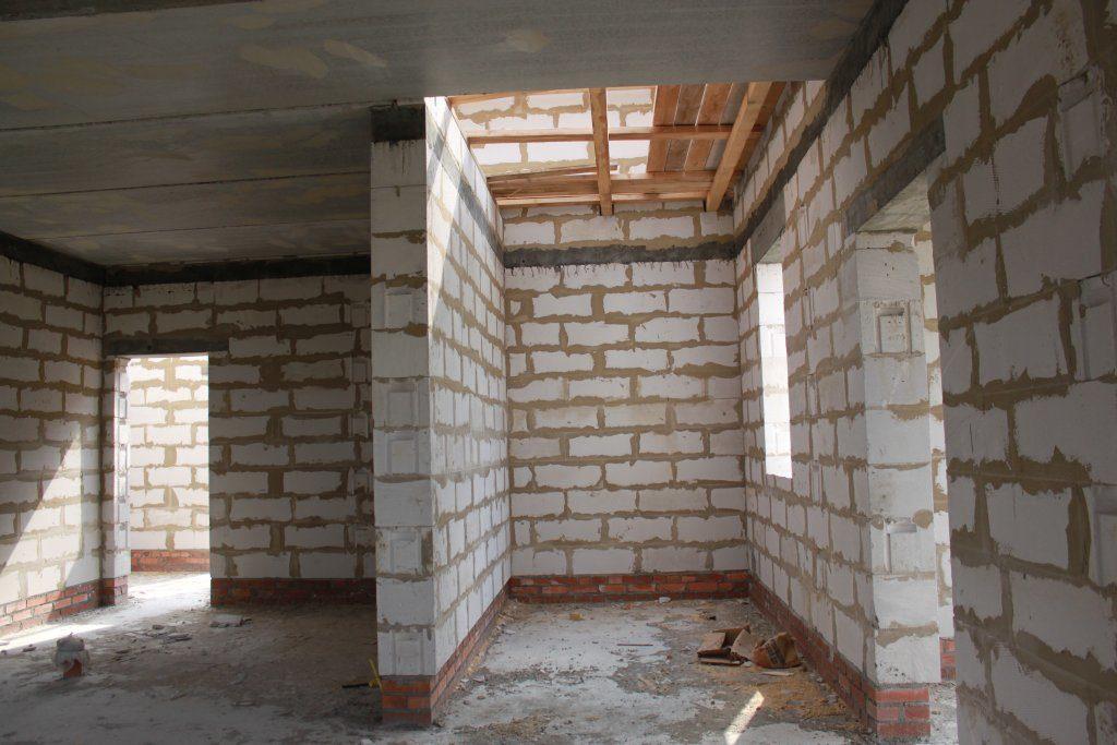 внутренняя отделка дома из газоблока