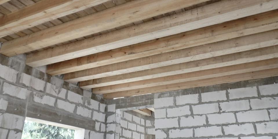 деревянные перекрытия в газобетоне