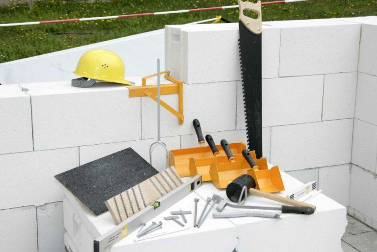 инструменты для газобетона