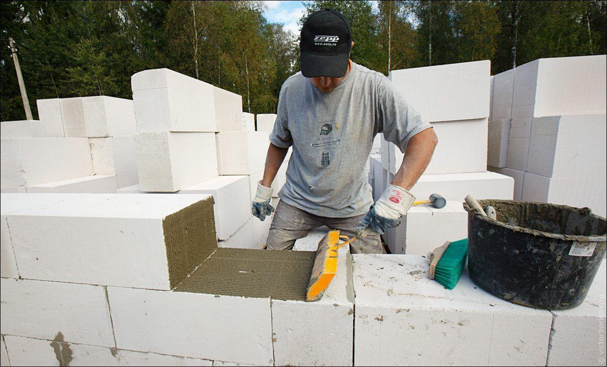 стоимость куба кладки из газосиликатных блоков