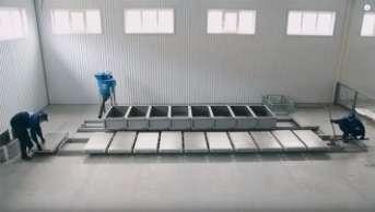 Conveyor-type mini line