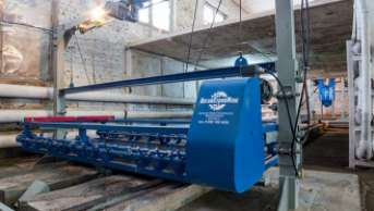 The way of an aerocrete production line from the warehouse to the commissioning