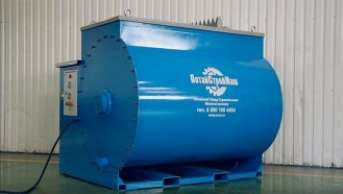 Polystyrene concrete equipment