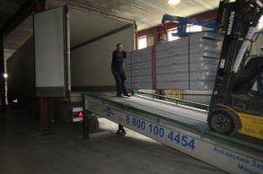 Со склада компании «АлтайСтройМаш» была отгружена конвейерная линия АСМ-40КА в Европейскую часть России