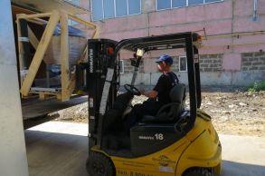 Со склада компании «АлтайСтройМаш» была отгружена мини-линия АСМ-10МС в Европейская часть России