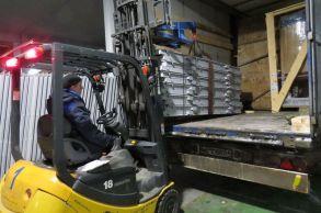 Со склада компании «АлтайСтройМаш» была отгружена конвейерная линия АСМ-20К на Урал