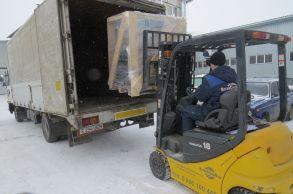 Со склада Компании АлтайСтройМаш была отгружена мини-линия стационарного типа АСМ-15МС в Северный Казахстан