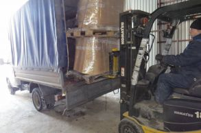 Со склада Компании АлтайСтройМаш был отгружен комплект химических компонентов для производства газобетона на Дальний Восток