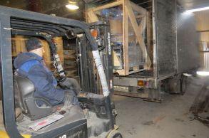 Со склада Компании АлтайСтройМаш была отгружена мини-линия стационарного типа АСМ-5МС в Западную часть России