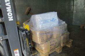Со склада компании «АлтайСтройМаш» были отгружены узлы конвейерной линии