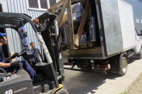 Со склада компании «АлтайСтройМаш» была отгружена мини-линия АСМ-1МС