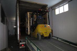 Со склада компании «АлтайСтройМаш» была отгружена конвейерная линия АСМ-30КА в Европейскую часть России