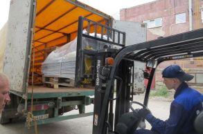 Со склада компании «АлтайСтройМаш» была отгружена мини-линия АСМ-2МС в Восточную часть Казахстана