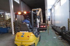 Со склада компании «АлтайСтройМаш» была отгружена мини-линия АСМ-1МС в Северную часть Казахстана