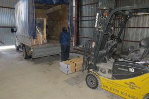 Со склада Компании АлтайСтройМаш был отгружен комплект дополнительного оборудования для линии конвейерного типа АСМ-20КА в Центральную часть России