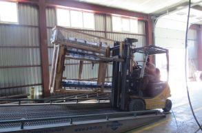 Со склада компании «АлтайСтройМаш» была отгружена конвейерная линия АСМ-40КА на Урал