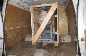 Со склада компании «АлтайСтройМаш» была отгружена мини-линия АСМ-2,5МС  в Казахстан
