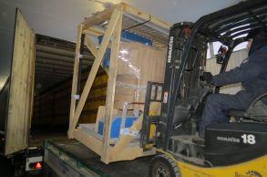 Со склада компании «АлтайСтройМаш» была отгружена стационарная линия АСМ-20С в Европейскую часть России