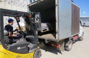 Со склада компании «АлтайСтройМаш» были отгружены мини-борта в Западную часть Казахстана