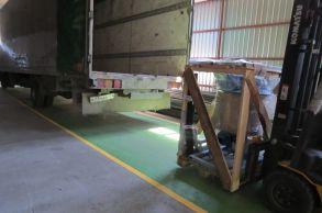 Со склада компании «АлтайСтройМаш» была отгружена мини-линия АСМ-10МС в Западную часть Казахстана