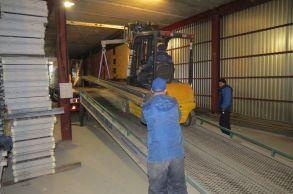 Со склада Компании АлтайСтройМаш была отгружена линия конвейерного типа АСМ-30КА в Южную часть России