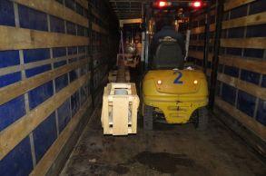 Со склада компании «АлтайСтройМаш» была отгружена конвейерная линия АСМ-80КА в Европейскую часть России