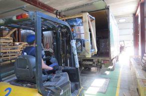 Со склада компании «АлтайСтройМаш» была отгружена мини-линия АСМ-5МС в Южную часть Казахстана