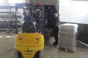 Со склада Компании АлтайСтройМаш была отгружена мини-линия стационарного типа АСМ-10МС в Восточную Сибирь