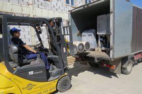 Со склада компании «АлтайСтройМаш» были отгружены химичекие добавки на Дальний Восток