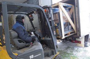 Со склада компании «АлтайСтройМаш» была отгружена мини-линия АСМ-7МС в Южную часть Казахстана