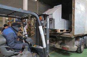 Со склада компании «АлтайСтройМаш» была отгружена мини-линия АСМ-10МС в Восточную часть Казахстана
