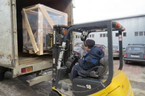 Со склада Компании АлтайСтройМаш была отгружена мини-линия стационарного типа АСМ-5МС в Восточный Казахстан