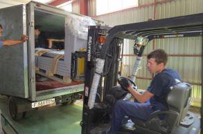 Со склада компании «АлтайСтройМаш» была отгружена мини-линия АСМ-5МС