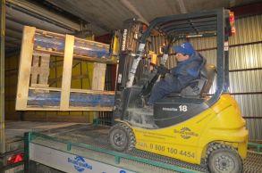 Со склада Компании АлтайСтройМаш была отгружена линия конвейерного типа АСМ-60КА в Восточный Казахстан