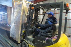 Со склада Компании АлтайСтройМаш была отгружена линия конвейерного типа АСМ-60КА в Южный Казахстан