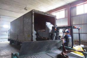 Со склада компании «АлтайСтройМаш» была отгружена мини-линия АСМ-10МС в Центральную часть Казахстана