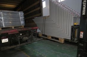 Со склада компании «АлтайСтройМаш» была отгружена мини-линия АСМ-15МС в Восточную часть Казахстана