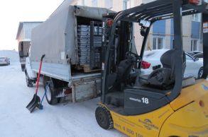 Со склада компании «АлтайСтройМаш» была отгружена мини-линия АСМ-10МС в Казахстан