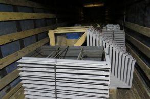 Со склада компании «АлтайСтройМаш» были отгружены поддоны и борта мини-линии в Северную часть Казахстана