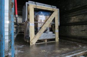 Со склада компании «АлтайСтройМаш» была отгружена мини-линия АСМ-1МС в Южную часть Казахстана