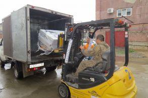 Со склада компании «АлтайСтройМаш» были отгружено вибросито в Европейскую часть России