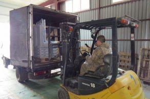 Со склада компании «АлтайСтройМаш» была отгружена мини-линия АСМ-2МС на Дальний Восток