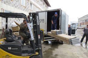 Со склада компании «АлтайСтройМаш» были отгружены борта конвейерной линии в Западную Сибирь