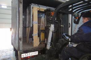 Со склада компании «АлтайСтройМаш» была отгружена мини-линия АСМ-1МС в Европейскую часть России
