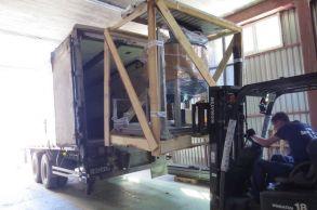 Со склада компании «АлтайСтройМаш» были отгружена стационарная линия АСМ-32С в Европейскую часть России