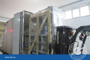 Отгрузка оборудование для производства газобетона