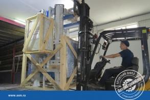 Отгрузка АлтайСтройМаш оборудование для производства газобетона