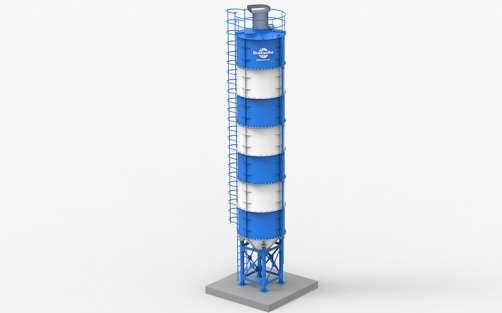 Силосная банка (V=48 м³, 72 тонны)