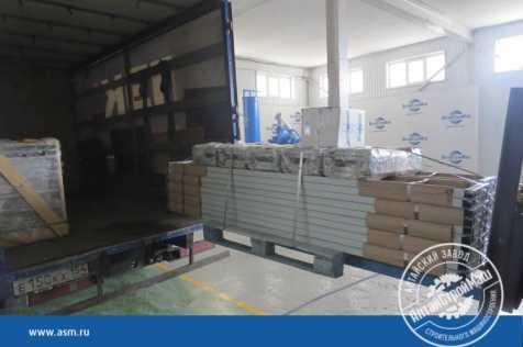 Отгружены борта форм конвейерной линии в Европейскую часть России.